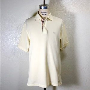 Men's Classic Cotton Piqué Polo by Burberry. Small